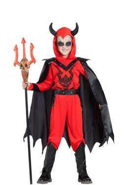 Disfraz de Demonio de Culto para niño