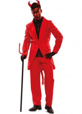 Elegante costume da demone per l'uomo