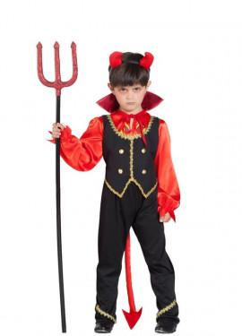 Disfraz de Demonio en Llamas para niño