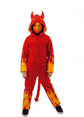 Disfraz de Demonio en Llamas para niños