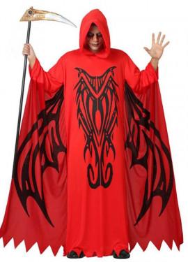 Disfraz de Demonio Rojo para hombre talla M-L