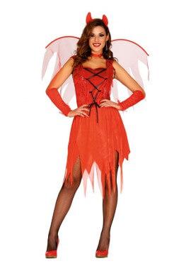 Disfraz de Devil Woman rojo