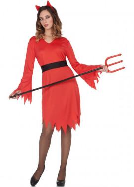 Costume da Diavolessa fuoco per donna
