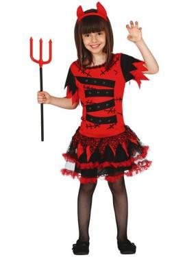 Disfraz de Diablilla Devil Monster para niña