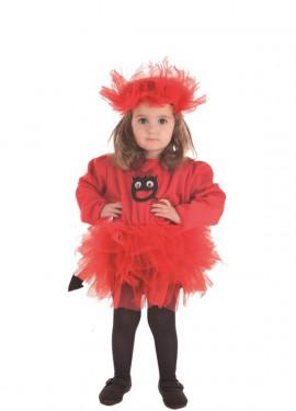 Disfraz de Diablilla Tutú para niña