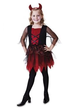 Disfraz de Diablita para niña