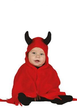 Déguisement de Petit Diable Rouge pour bébé
