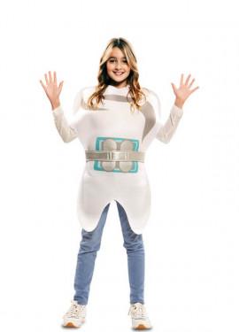 Disfraz de Diente con Brackets para niños