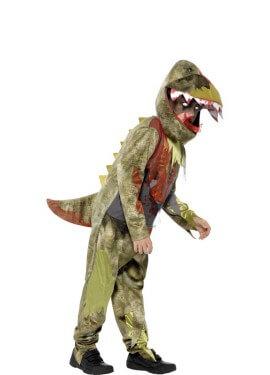 Disfraz de Dinosaurio Zombie para niño