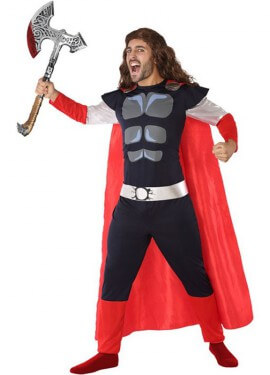 Costume di God of Thunder per uomo
