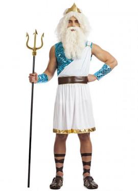 Disfraz de Dios Marino para hombre