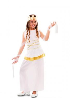Disfraz de Diosa Atenea Griega para niña