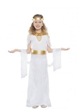 Disfraz de Diosa Griega Largo para niña