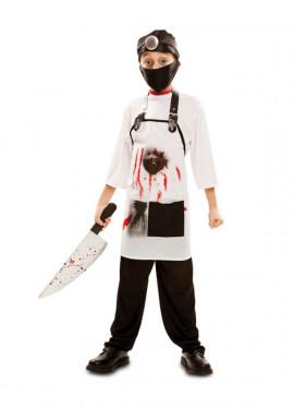 Disfraz de Doctor Killer para niños para Halloween