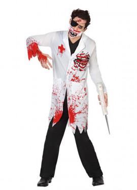 Disfraz de Doctor Sangriento para hombres para Halloween