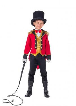Costume da Domatore rosso per bambino