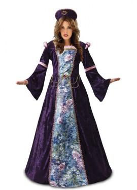 Disfraz de Doncella Morada para mujer