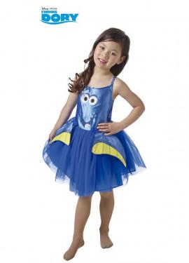 Disfraz de Dory Tutú de Buscando a Dory para niña