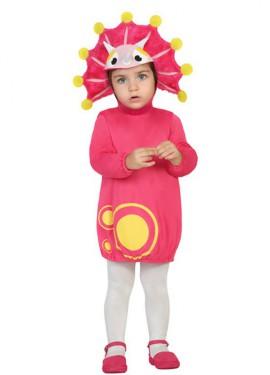 Disfraz de Dragoncito rosa para bebé