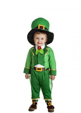Disfraz de Duende Irlandés para niños