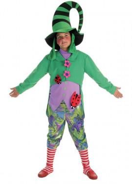 disfraz de duendecillo verde para nio