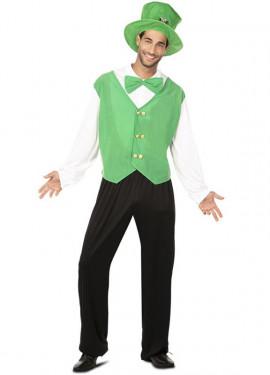 Disfraz de Duende verde hombre