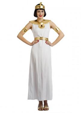 Disfraz de Egipcia Blanca para mujer