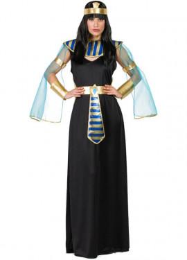 Disfraz de Egipcia Negra para mujer