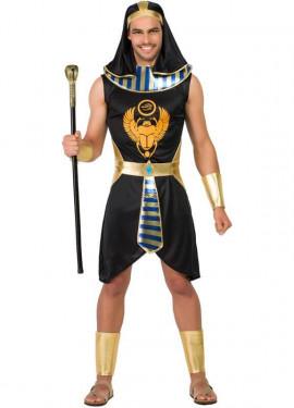 Costume egiziano nero per uomo