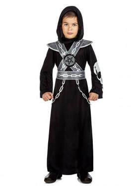 Disfraz de Ejecutor Calavera para niño