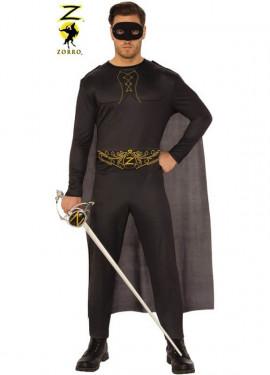 Disfraz de El Zorro para hombre