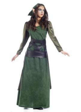 Disfraz de Elfa Arethus para mujer