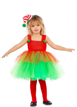 Déguisement d'elfe avec Tutu pour fille et bébé