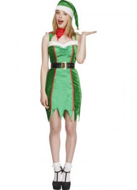 Disfraz de Elfa Traviesa para mujer