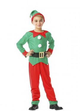 Disfraz de Elfo con cinturón para niño y bebé