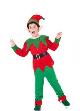 Disfraz de Elfo con orejas para niño