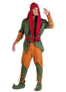 Disfraz de Elfo del bosque para hombre