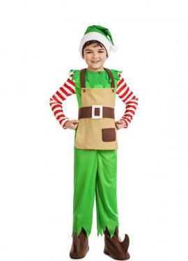 Disfraz de Elfo Navidad para niño