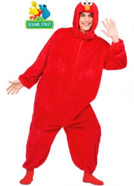 Costume da elmo rosso per adulti