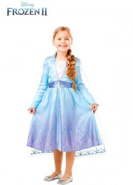 Disfraz de Elsa Clásico de Frozen 2 para niña