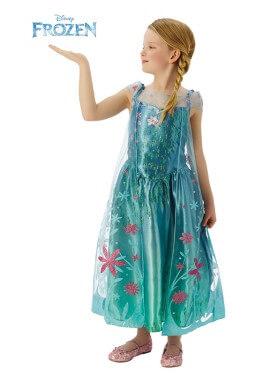 Disfraz de Elsa fever de Frozen para Niña