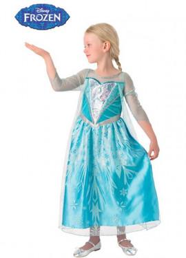 Disfraz de Elsa premium para Niña