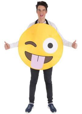 Disfraz de Emoticono Guiño para adultos 0ec34e3af7b