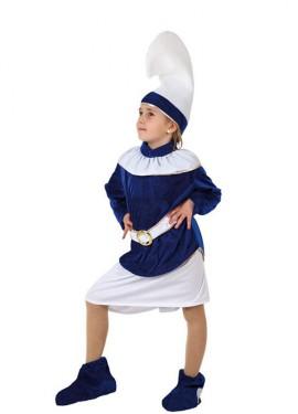 Disfraz de Enana Azul para niñas