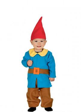 Disfraz de Enanito azul Baby para bebés