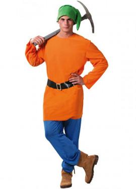Déguisement Petit Nain Orange pour homme