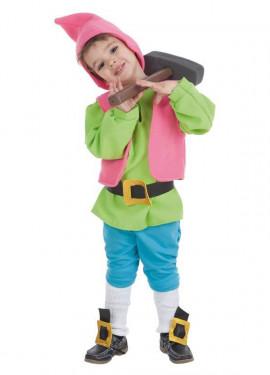 Disfraz de Enanito verde para niño