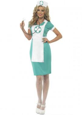 Disfraz de Enfermera de Cirugía para Mujer