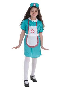 Disfraz de Enfermera de cirugía para niña