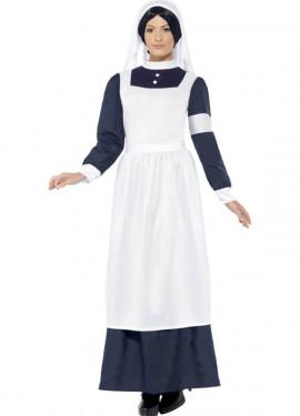 Disfraz de Enfermera de Guerra para mujer